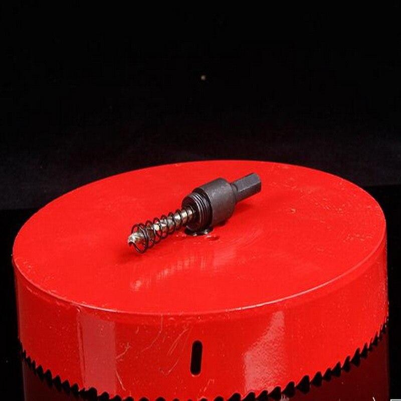 Spedizione gratuita 1 pz 105-170mm HSSM42 fatto foro bimetallico sega - Punta da trapano - Fotografia 1