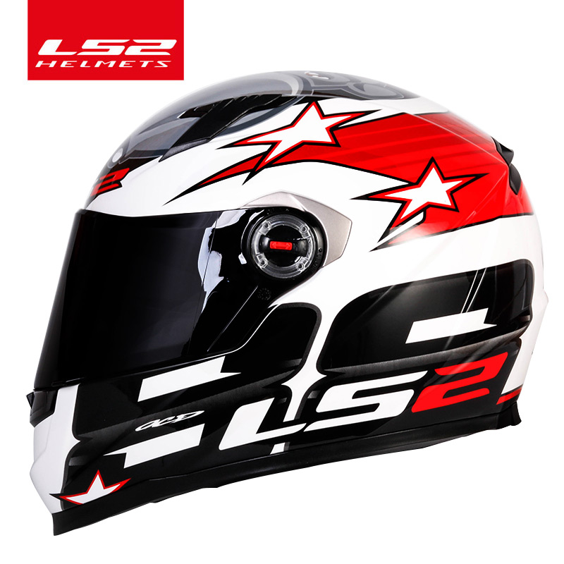 Image 2 - LS2 FF358 full face motorcycle helmet high quality LS2 Brazil flag capacete casque moto helm ECE approved no pump-in Helmets from Automobiles & Motorcycles