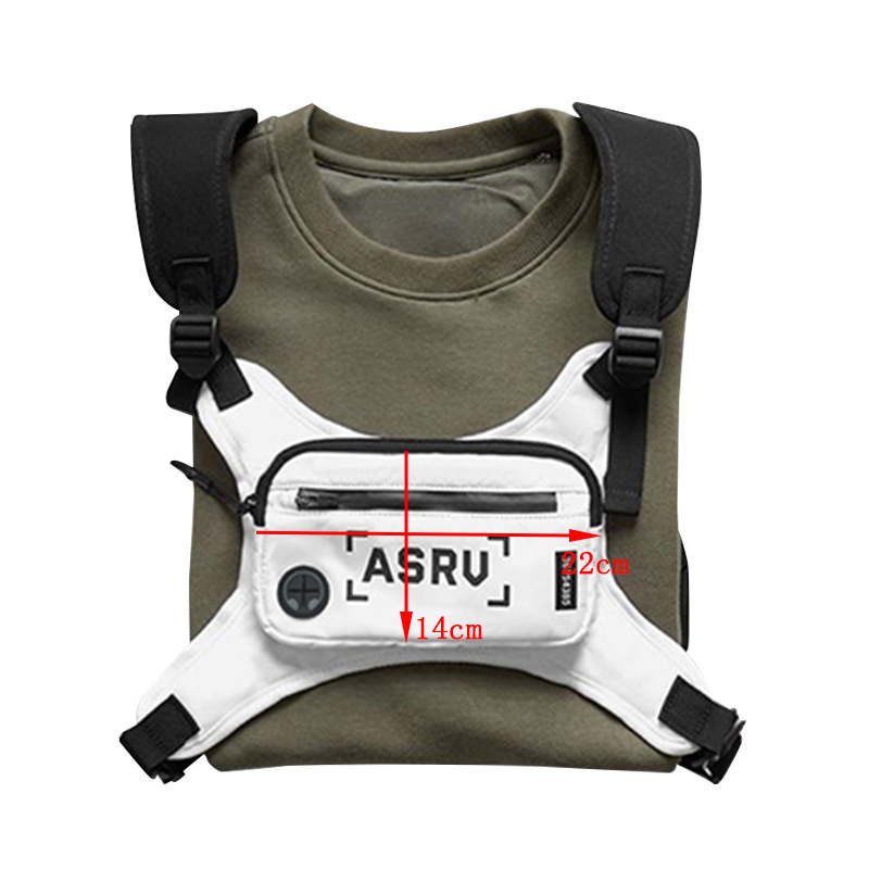 H737aa47ffe8e489588cd5693da2a65902 - Fashion Chest Rig Bag For Men Waist Bag Hip hop streetwear functional Tactical Chest Mobile Phone Bags Male Fanny Pack Casual