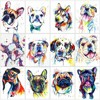 Painting By Numbers color Dog Drawing On Canvas HandPainted Gift Picture By Number animal Kits Home Decoration