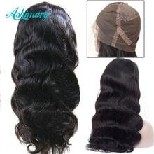 Full Lace Human Hair Wigs Remy Peruvian Body Wave W