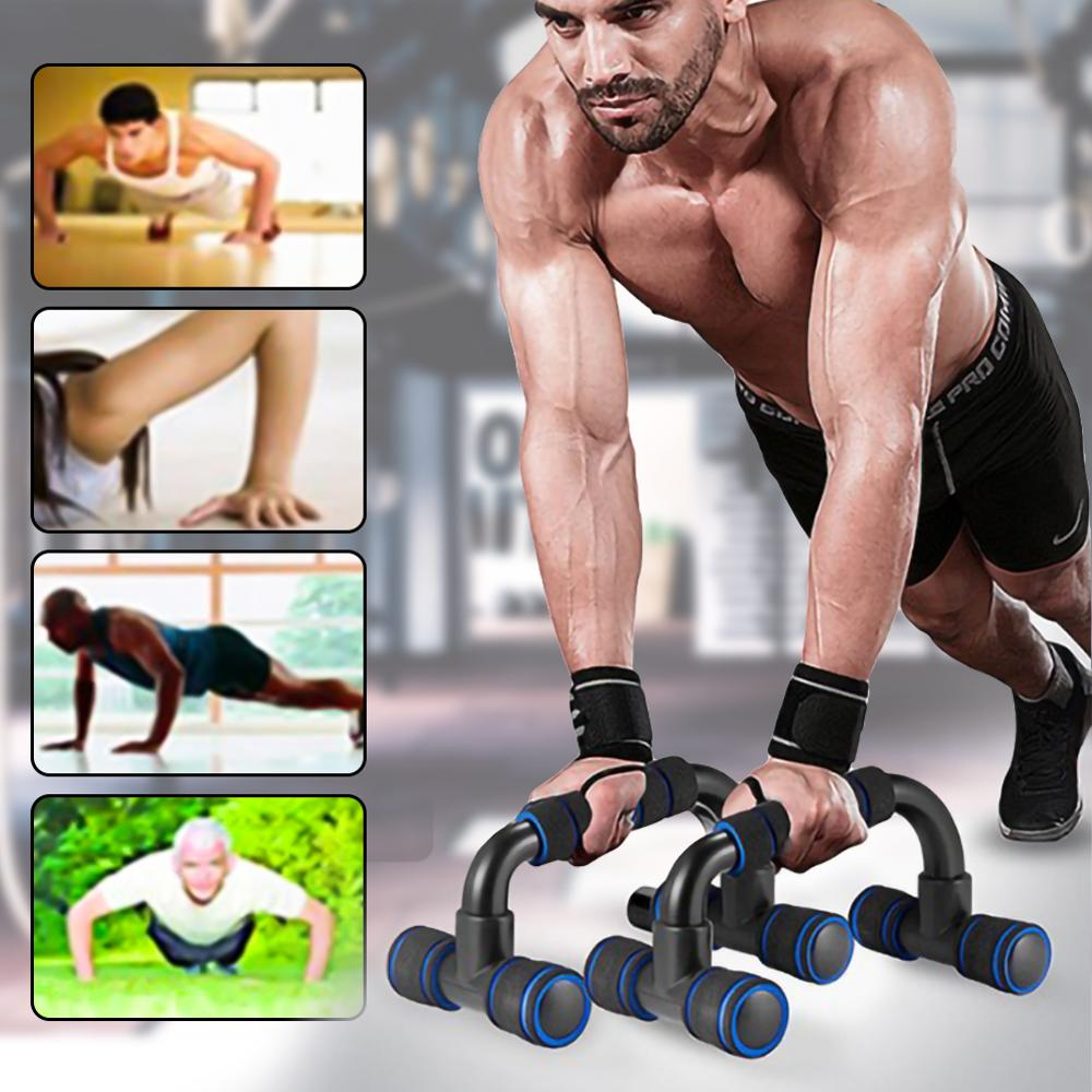Plastic Sports Push-up Stands Bars Arm Muscle Power Trainer Gym Exercise Chest Training Expander Equipment Parallel Bar
