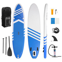 330*76*15cm Inflatable Surfboard Stand Up Paddle Surfing Board Water Sport Board 10.5'x30 x6 ISUP