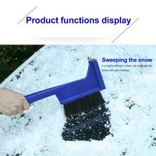 Buy Multifunctional Snow Shovel Ice Sweeping Tool Windshield Snow Scraper directly from merchant!