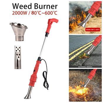 2000W Electric Lawnmower Weeder Power Tool Electric Weed Burner Temperature Optional Igniter Garden Gear Weed Killer Tools