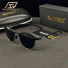 Simprect 2020 tr90 металл поляризационные очки солнцезащитные