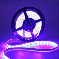 5M 5050 SMD RGB 300 LED Streifen Licht Wasserdicht IP65 12V DC TV Hintergrund Beleuchtung Dekoration Lampe stip-in LED-Streifen aus Licht & Beleuchtung bei