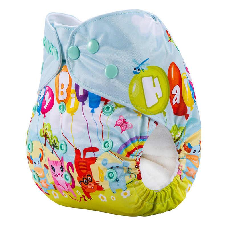 방수 재사용 가능한 천 기저귀 삽입하지 않고 빨 아기 천 기저귀 기저귀 DY11