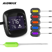 AidMax PRO05 Digital Oven Thermometer With Timer Meat Thermometer Kitchen Food Cooking