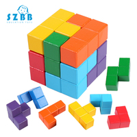 Spiner Wooden Toys Sz Steam Educational Puzzles For Kids Brain Teaser 3d Russia Kong Ming Luban Development Toy Gift Sz3037