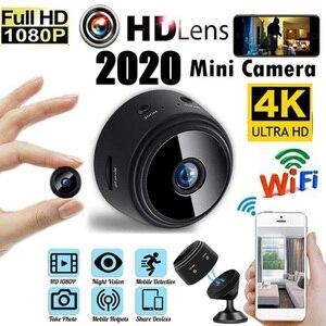 Мини IP-камера HD 4K/1080P невидимая с поддержкой Wi-Fi и датчиком движения