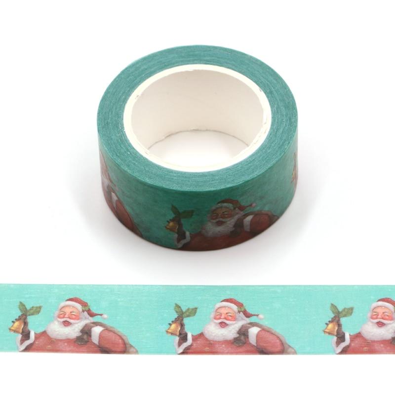 Santa Claus Bullet Journal Decorative Adhesive Tape Christmas Masking Washi Tape DIY Scrapbooking Sticker Label Stationery