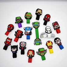 Cartoon Cable Protector Data Line Cord Protector Protective Case Cable Winder Cover For iPhone USB Charging Cable For iPhone xr cartoon cable protector data line cord protector protective case cable winder cover for iphone huawei samsung usb charging cable