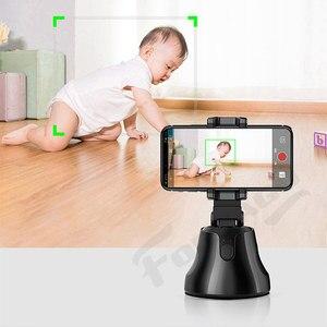 Image 4 - Apai Genie akıllı telefon Selfie çekim Gimbal 360 otomatik izleme telefon tutucu kamera için Selfie sopa Vlog kayıt Youtube canlı