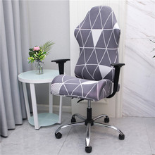 Chair-Cover Computer-Chairs Spandex Elastic Office Gaming Household
