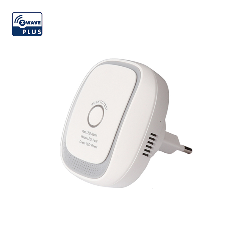 Haozee Z-wave Combusitible Gas Leakage Alarm Sensor Smart Home EU Version 868.42mhz Natural Gas Coal Gas Detector