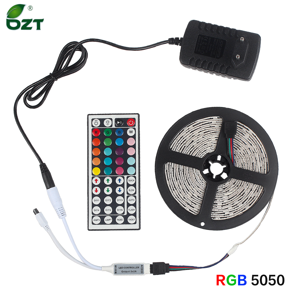 Permalink to LED Strip Light RGB 5050 Waterproof 12v Flexible Ribbon 5M 10M 15M LED Tape With PowerAdapter Bluetooth WiFi Contoller For Room