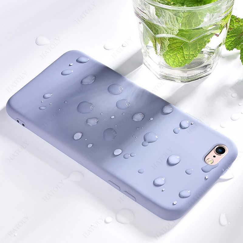 Cho iPhone SE 2020 Dành Cho iPhone 11 Pro Max Bao Da Ban Đầu Liquid Silicone Ốp Lưng Điện Thoại Cho Iphone X XR XS 5 6 6 S 7 8 Plus