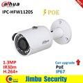 Ip-камера Dahua 1.3MP IPC-HFW1120S POE IR30m H.264 + Водонепроницаемая английская прошивка IP67 может быть модернизирована пулевидная камера видеонаблюдения сс...