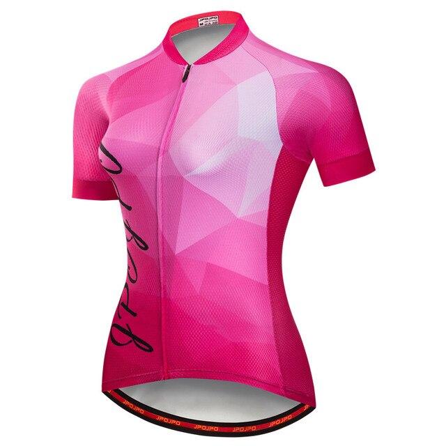 Weimostar pro equipe de ciclismo jérsei das mulheres verão mtb bicicleta camisa maillot ciclismo roupas secagem rápida 4