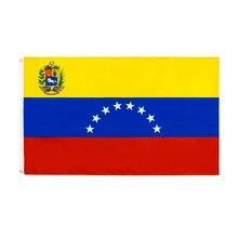 Johnin 90x150cm ve ven bandeira da venezuela