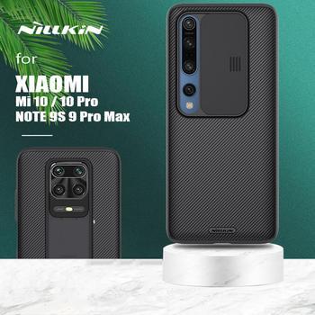 for Xiaomi Redmi Note 9S 9 Pro Max Case Nillkin CamShield Case Slim Slide Camera Protection Cover for Xiaomi Mi10 Mi 10 Pro Case