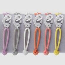 Франция Парижа ювелирные изделия 925 стерлингового серебра браслет наручники для женщин с веревкой 925 Серебряный кулон браслет Menottes