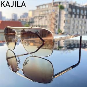 Image 2 - Platz Männer Sonnenbrille Neue Ankunft 2020 Retro Vintage Marke Designer Shades Sonnenbrille Für Mann Brillen Lentes De Sol Hombre