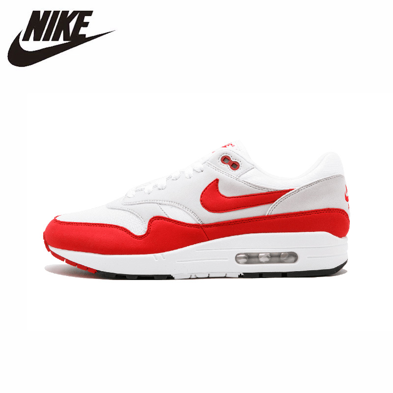 NIKE Air Max 1 OG Original Men Running Shoes Mesh Breathable Comfortable Lightweight Outdoor Sports Sneakers #908375