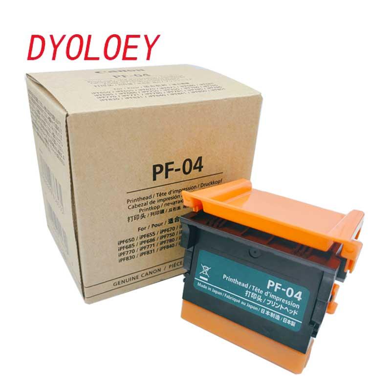 PF-04 pf04 pF 04 หัวพิมพ์หัวฉีดหัวพิมพ์สำหรับ Canon IPF650 IPF655 IPF680 IPF681 IPF685 IPF686 IPF750 IPF755 IPF760 IPF765