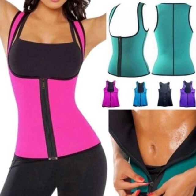 Women Sweat Body Suit Sweat Belt Shaper Premium Waist Trimmer Belt Waist Trainer Corset Shapewear Slimming Vest Underbust 1