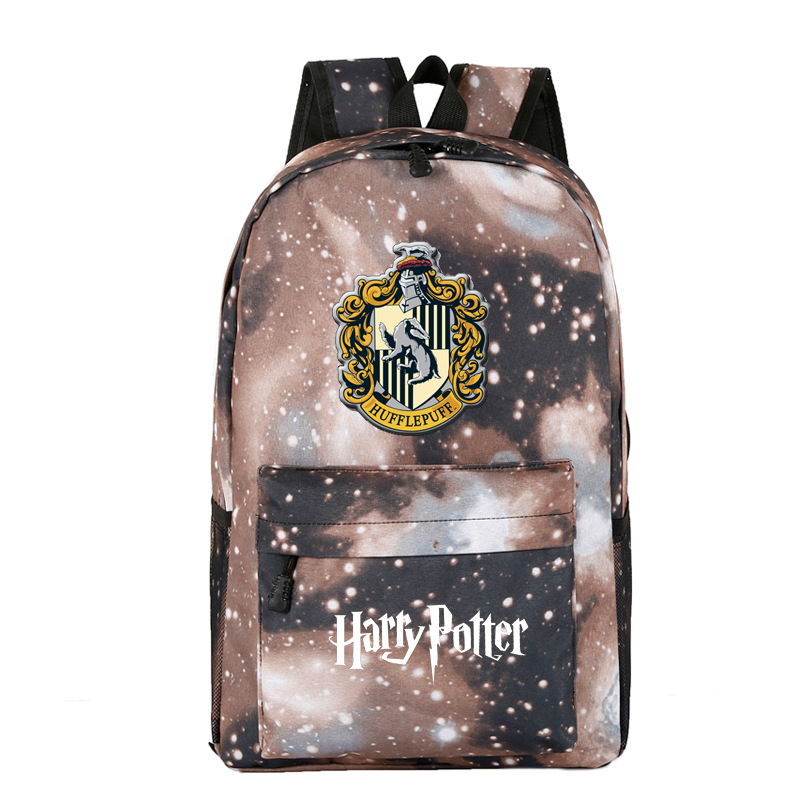 Harry Potter related <font><b>backpack</b></font> foreign trade cross-border for a generation of fat wholesale custom image
