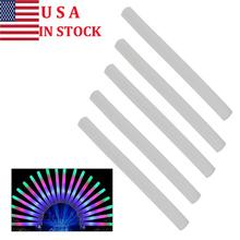 30pcs Multi Color LED Foam Glow Stick Fluorescent Light Sticks Party Glow Stick With 3 Bright LEDs For Concert Party