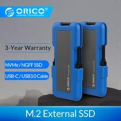 ORICO Esterno SSD hard drive 1TB SSD DA 128GB 256GB 512GB M.2 NVME SSD NGFF SSD Portatile SSD Drive Allo Stato Solido con il Tipo C USB 3.1