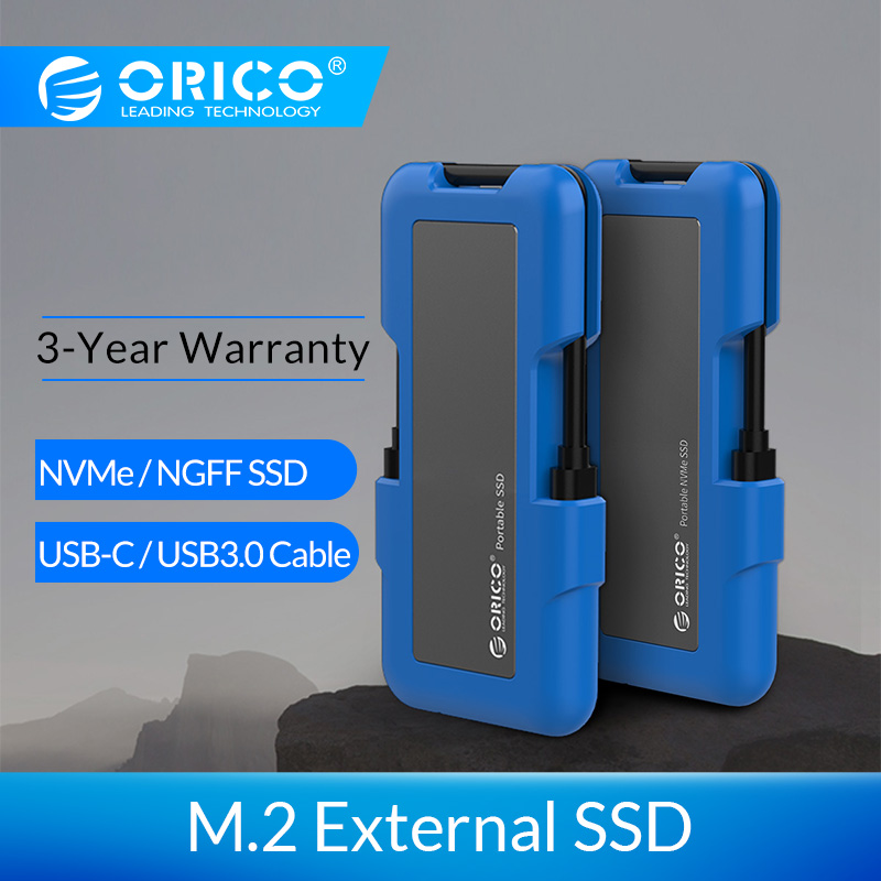 ORICO External SSD Hard Drive 1TB SSD 128GB 256GB 512GB M.2 NVME SSD NGFF SSD Portable SSD Solid State Drive With Type C USB 3.1