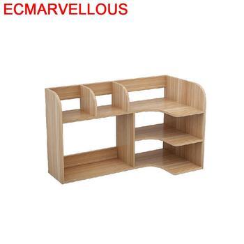 Oficina Camperas Home Bureau Wall Shelf Meuble De Maison Display Mobili Per La Casa Rack Retro Libreria Furniture Bookshelf Case