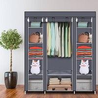 Нетканая ткань большой емкости шкаф складной портативный комод ручной работы шкаф для хранения одежды шкаф мебель для дома