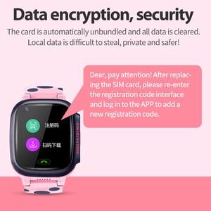 Image 4 - 4G ילדים חכם שעון IP67 עמיד למים Smartwatch GPS Wifi גשש מצלמה שיחת וידאו עבור תינוק Y95 PK A36E