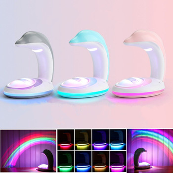 Novelty Photo Artifact Rainbow Projector LED Colorful Night Light Romantic Rainbow Projector Lamp Bedroom Decor Light Gifts tanbaby led colorful rainbow novelty kids night light romantic sky led projector lamp luminaria home party birthday gift dmx dj