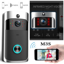 Wireless WiFi Video Doorbell Smart Phone Door Ring Intercom Security Cam Bell