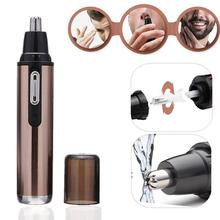 Electric Nose and Ear Hair Trimmer USB Rechargeable Painless