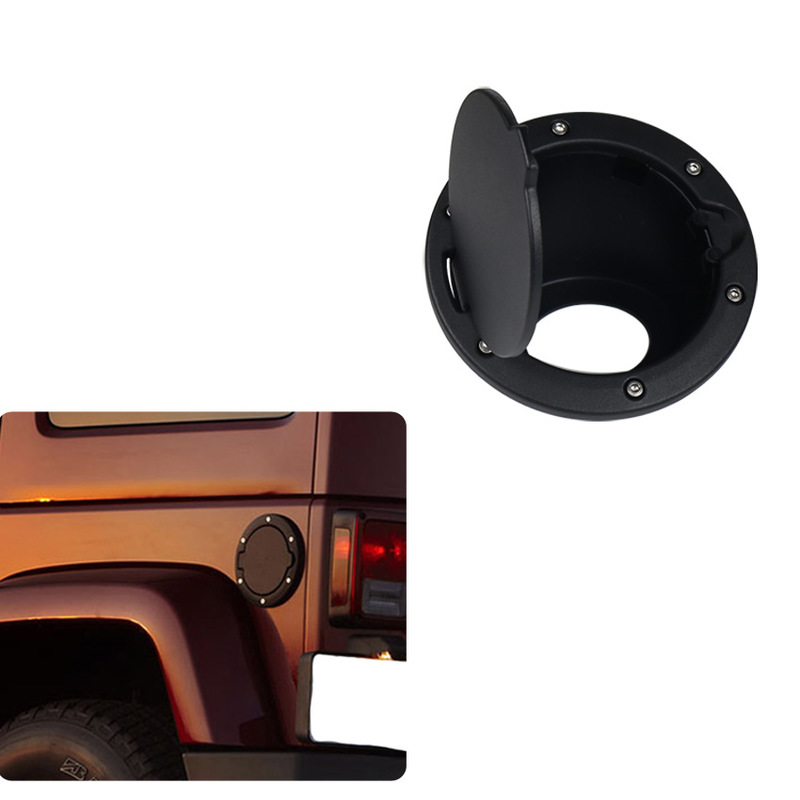 The Vectra Two Four Generic Jeep Modified Black Oil Tank Cover Plate Jeep Wrangler Caps