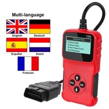 V309 OBD2 Code Reader Obd 2 Scanner Obdii Auto Diagnostische Tool Plug En Play Digitale Display Auto Accessoires Elm 327