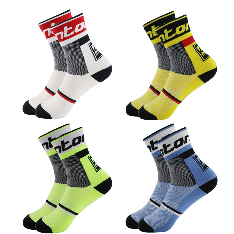 Quality Professional Brand Sport Pro Cycling Socks Comfortable Road Bicycle Socks Mountain Bike Socks Racing Socks