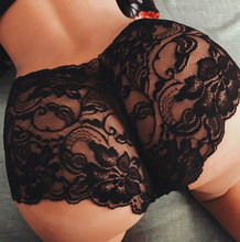 Culotte Sexy en dentelle pour femmes, sous-vêtement, Ikini, string, slip, Tanga, S-5Xl