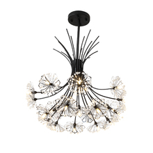 Nordic living room hang lamp decoration style creative personality romantic crystal  master bedroom