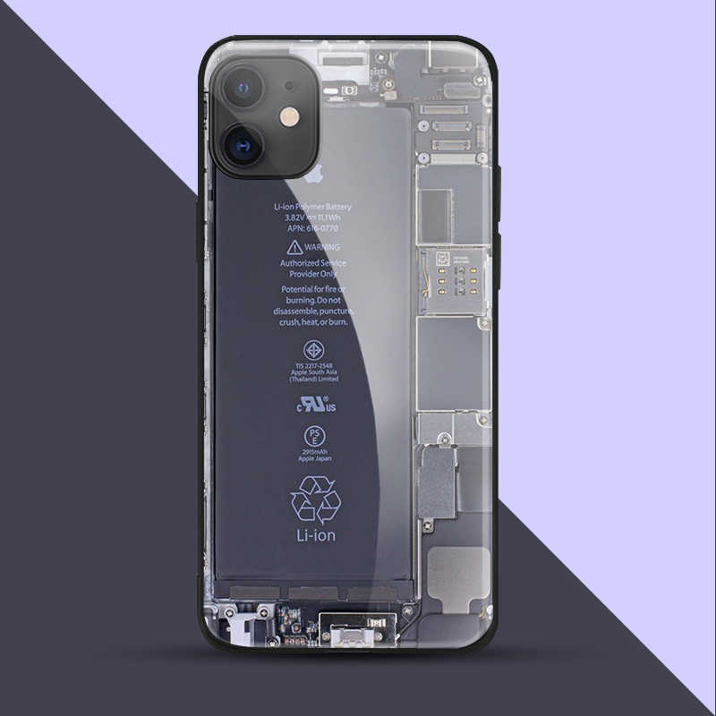IPhone 6 용 전화 케이스 6s 7 8 plus x xr xs 11 12Pro max 12 미니 강화 유리 전화 케이스 커버 소프트 실리콘