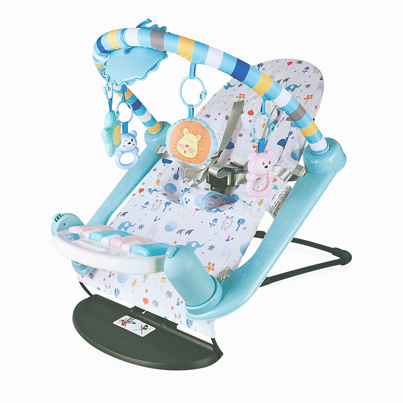 Baby Rocking Chair Newborn Electric Toy Fitness Frame Children Music Folding Swing Multifunction Comfortable Recliner Rattle Baby Rocking Chair Newborn Electric Toy Fitness Frame Children Music Folding Swing Multifunction Comfortable Recliner Rattle