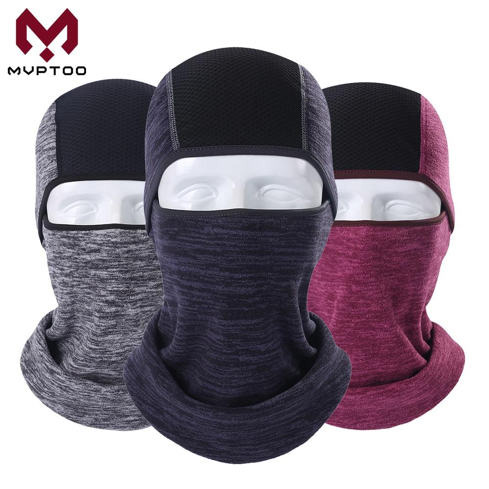 Winter Fleece Moto Cap Balaclava Warm Motorcycle Motocross Cycling Military Tactical Full Face Mask Helmet Liner Head Shield