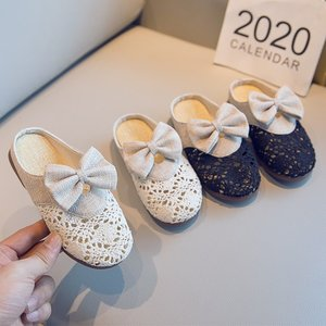 Girls Bowtie Slippers 2020 Fas